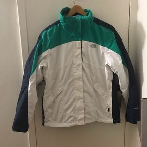 The North Face 2 in 1 jacket